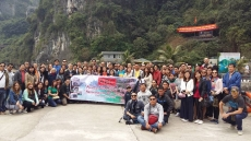GROUP FROM PHILIPPINES DONE HANOI- HA LONG 4D3N 18-21/2/2016